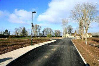 Sale land Marchezais - photo